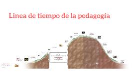 Linea de tiempo de la pedagogía