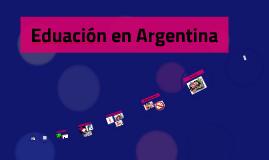 Eduación en Argentina