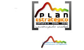 Presentación Plan Estratégico Comuna 6-Doce de Octubre