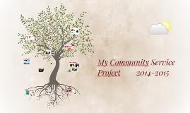 8th Grade Community Service Project