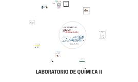 ENCUADRE DE LABORATORIO DE QUIMICA II