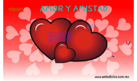 Copy of amor y amistad