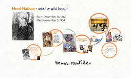 Copy of Henri Matisse