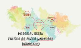 Copy of Pictorial Essay