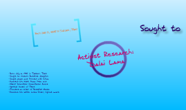 Activist Research Project