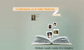 La literatura en la Edad Moderna