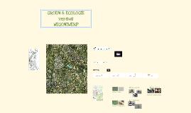 Groen & Ecologie ontwerp