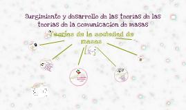 Copy of Capítulo 2. Surgimiento y desarrollo de la teoría de la comunicación de masas