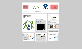 AAUW Athens State Branch Membership Drive