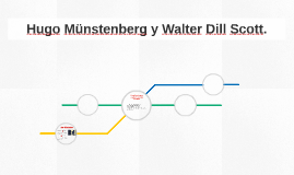 Hugo Munstenberg y Walter Dill Scott.