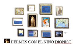 HERMES CON EL NIÑO DINOSIO
