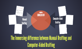 The Immersing between Manual and Computer-Aided Drafting