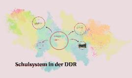 Schulsystem in die DDR