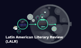 Latin American Literary Review