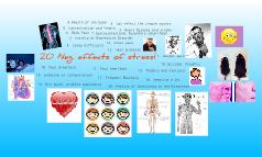 neg. effects of stress