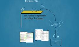 Copy of Les classes compétences au collège de Chirens