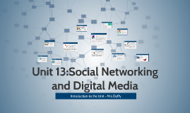 Unit 13:Social Networking