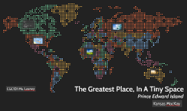 The Greatest Place, In A Tiny Space