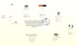 Copy of Alternative Fuel Sources