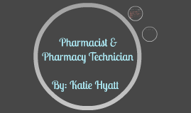 Pharmacist/Pharmacy Technician