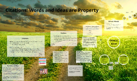 (Analytical Essay: Yes Means Yes) Words and Ideas are Property
