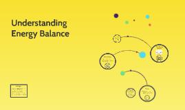 Understanding Energy Balance