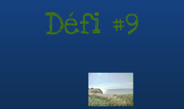Défi #9