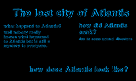 The lost city of Atlantis:evil twins