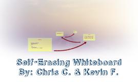 Self-Erasing Whiteboard