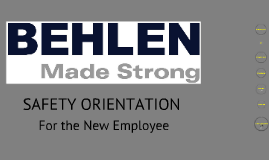 Copy of New Employee Orientation