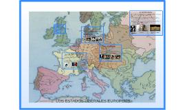 LOS ESTADOS LIBERALES EUROPEOS