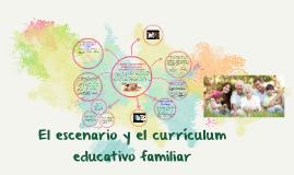 El escenario y el currículum educativo familiar