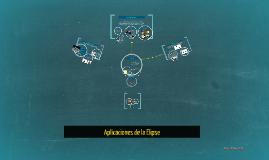 Copy of Aplicaciones de la Elipse
