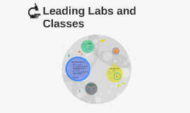 Leading Labs and Classes