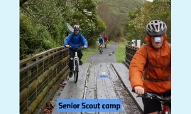 Senior Scout camp