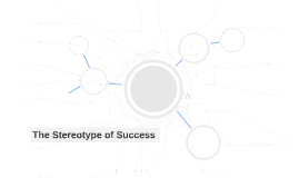 The Stereotype of Success