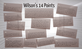Translating Wilson's 14 Points