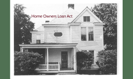 Home Owners Loan Act