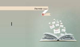 DECRETO 1242