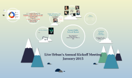 Live Urban's Annual Kickoff Meeting January 2015