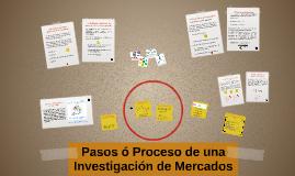 Copy of Pasos – Proceso de Investigación de Mercados