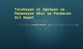 Talakayan at Ugnayan sa Mamamayan Ukol sa Pandacan Oil Depot