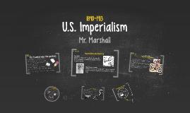 U.S IMPERIALISM