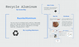 Recycle Aluminum #1
