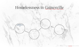 Homelessness in Gainesville