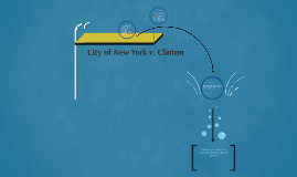 City of New York v. Clinton