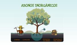 ABONOS INORGANICOS