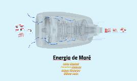 Energia de Maré