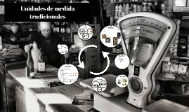Unidades de medida tradicionales