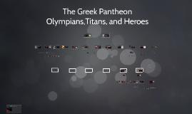 The Greek Pantheon